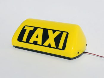 Taxi roof sign TMGN